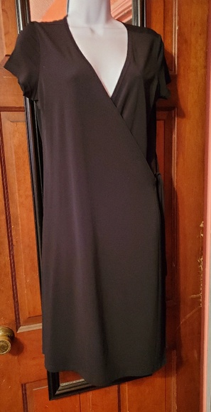 attention Dresses & Skirts - Black wrap dress